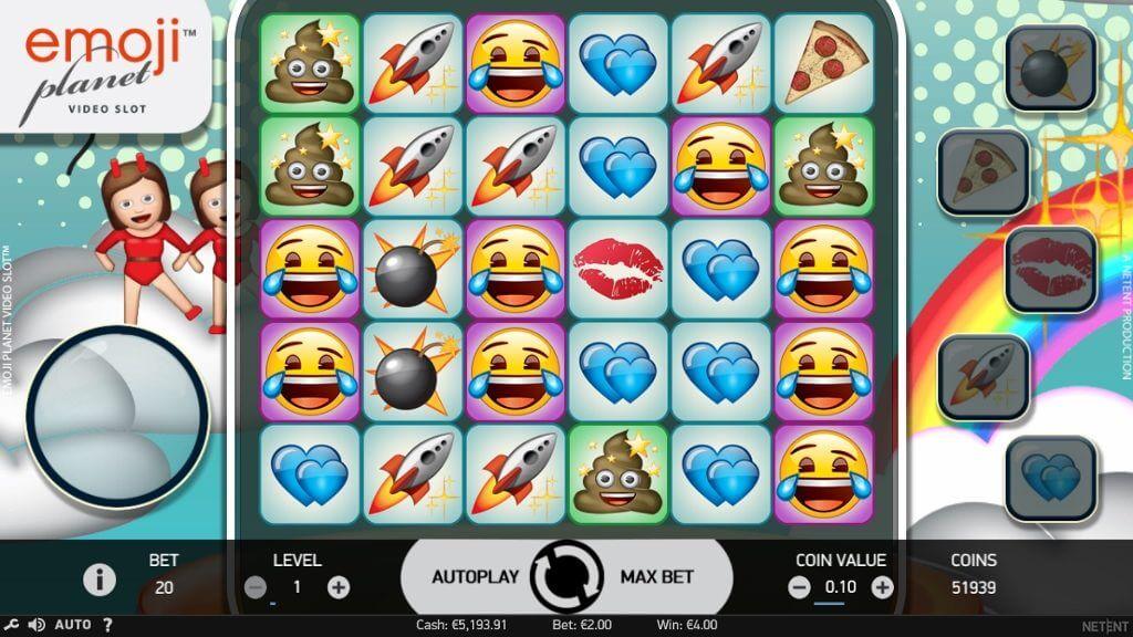 Emojiplanet slot game