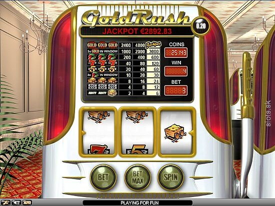Gold Rush slot NetEnt