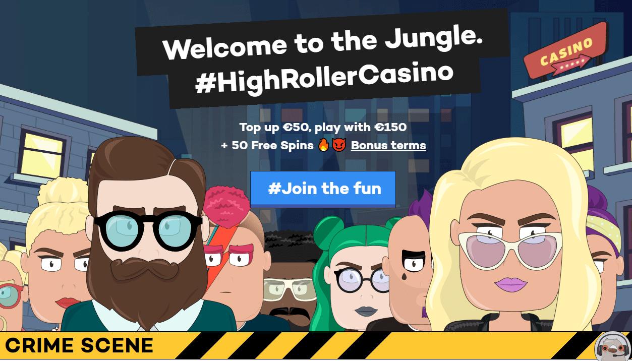 Brand New Online Casino HighRoller Goes Live