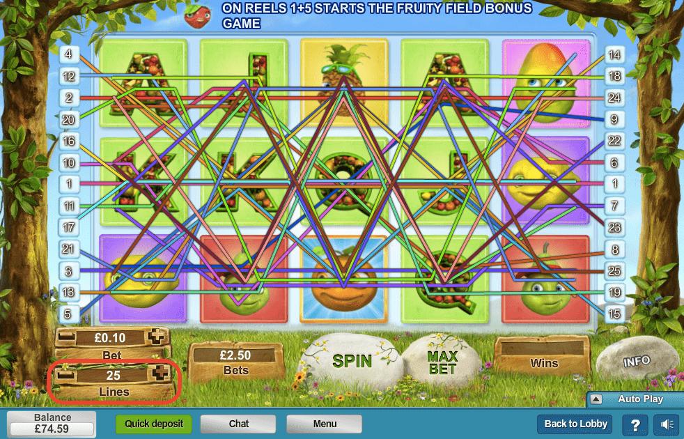 Slot Machine Lines Explained