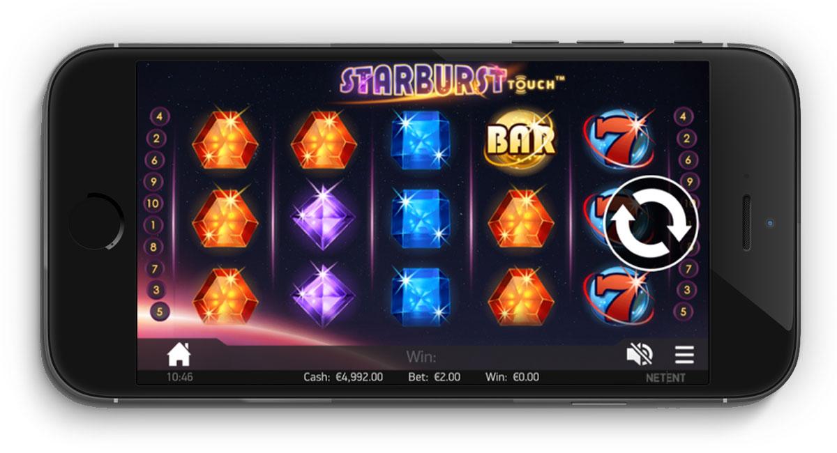 Starburst mobile slot