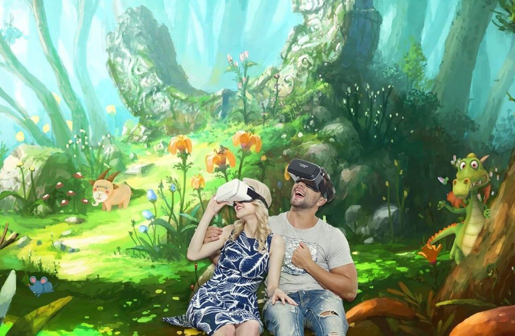 Virtual reality slot games