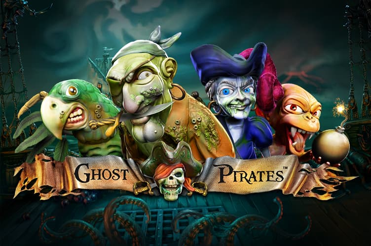 ghost pirates slot netent